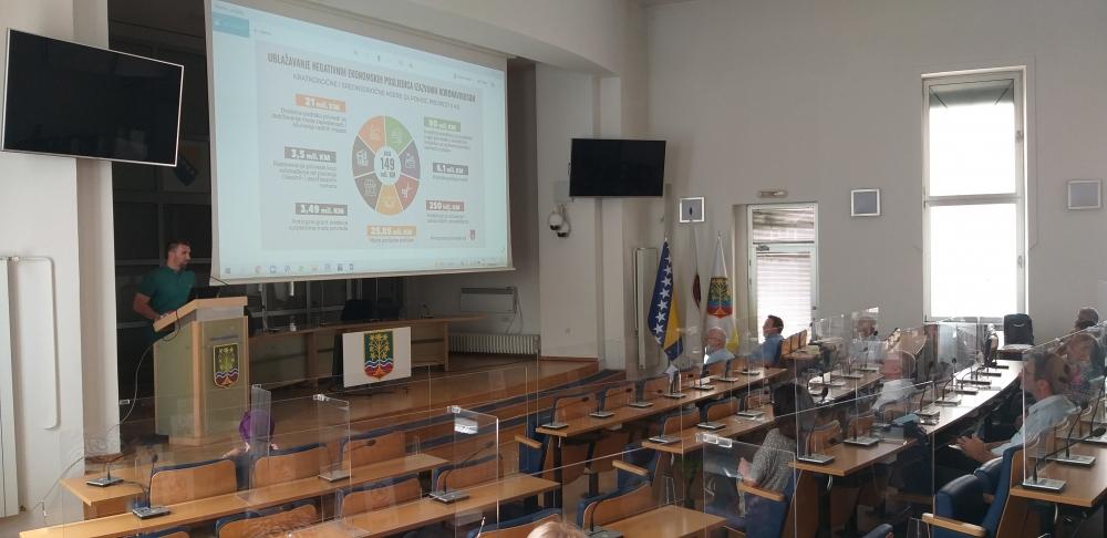 Promocija programa razvoja male privrede za obrtnike – zanatlije sa područja Kantona Sarajevo